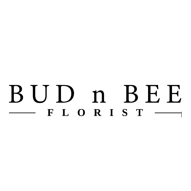 logo for Bud n Bee Florist