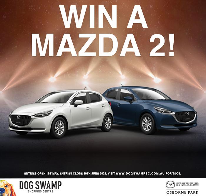 DOG SWAMP Mazda Giveaway for website