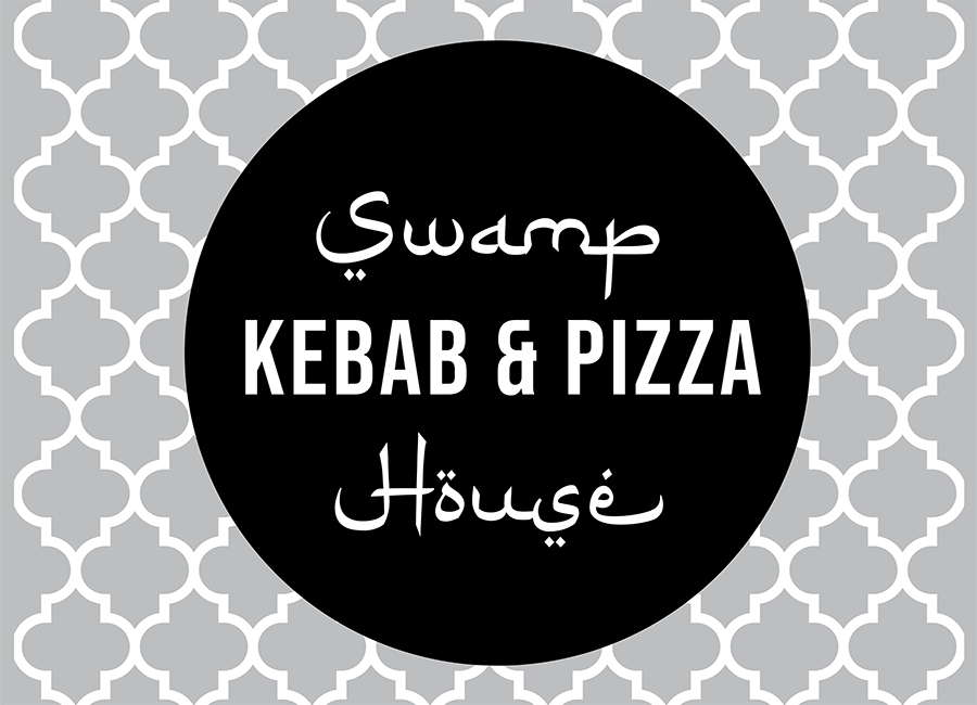 logo for Swamp Kebab & Pizza House